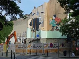 demolicion tienda michiels 12 septiembre