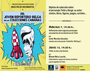 Flyer 170605 Muestra documentos joven reportero Biblioteca Insular